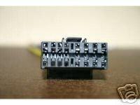 JVC WIRE HARNESS KD SX780 SX840 KS F110 F130  JV-16