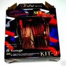 8 GAUGE POWER WIRE AMP KIT  OXYGEN FREE COPPER kit2
