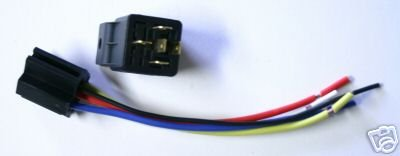 RELAY and HARNESS SPDT 12 VOLT 30/40 AMP HEAVY DUTY S
