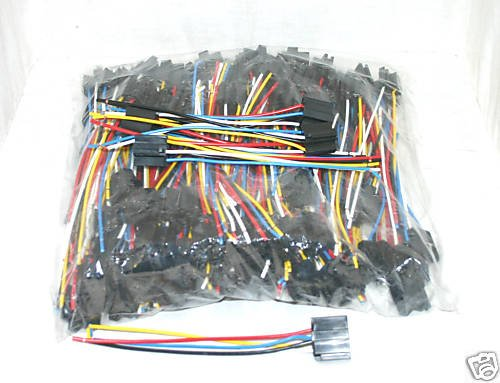 100 PACK RELAY HARNESS  12 VOLT AMP 14/16 AWG NO RELAYS