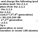 Pioneer DIGITAL Aux IPOD IPHONE AVIC-N2 N4 N5 5V A35