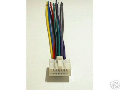 PANASONIC WIRE HARNESS CQ-DPX33 CQDPX33 pa16