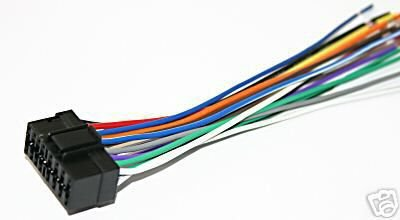 SONY wire WIRING Harness cdx-ca720x  cdxca720x  sy16 +