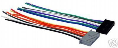PLYMOUTH VOYAGER 84-00 MALE RADIO WIRE HARNESS CWH 633