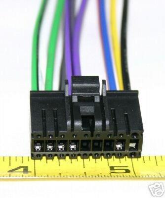 SONY 18 PIN  WIRE HARNESS MDX-C150 MDXC150  SY18-00
