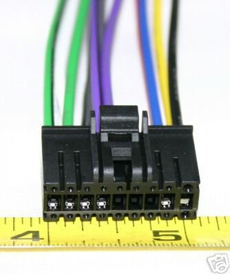 SONY 18 PIN  WIRE HARNESS CDX-5620 CDX5620 SY18-00