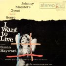 I Want To Live - 2LP rare double set, film OST & Jazz Score United Artists UXS-51