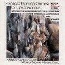 Ghedini Concertos Munich Chamber Orch / Hans Stadlmair cond. KOCH Schwann 3-1782-2