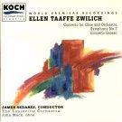 Zwilich: Concerto Grosso; Symphony No. 3, Oboe Concerto, Sedares Louisville Orch Koch CD