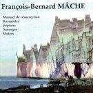 """François-Bernard Mâche """"manuel de résurrection"""" Musidisc 292602 IMPORT"""