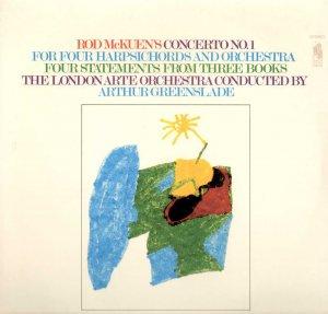ROD MCKUEN CONCERTO No. 1 Greenslade, London Arte Orchestra Sealed LP SR 10009