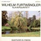 WILHELM FURTWANGLER Quator Elyseen PIANO QUINTET GERMAN 2LP MINT