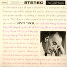 Ernst Toch Zurich String Quartet Vienna Trio Contemporary S 8005 STEREO Still Sealed LP