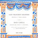 Malipiero Delle Canzoni Dimitri Mitropoulos Bach Casella Fonit Cetra LPU 20 1950 Italy