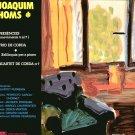 JOAQUIM HOMS PRESENCIES TRIO DE CORDA SOLILOQUIS PAR A PIANO QUARTET CORDA Nº 7 autographed LP