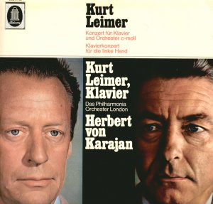 Kurt Leimer Piano Concerto Herbert von Karajan London Philharmonic Orchestra EMI SME 91753 Mint LP