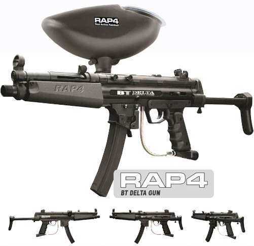 BT Delta Paintball Gun Package