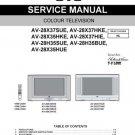 JVC AV28X37 Service Manual with Schematics Circuits on Mauritron CD