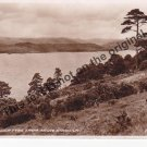Looking Up Loch Fyne from Above Strachur - Mauritron Postcard #421