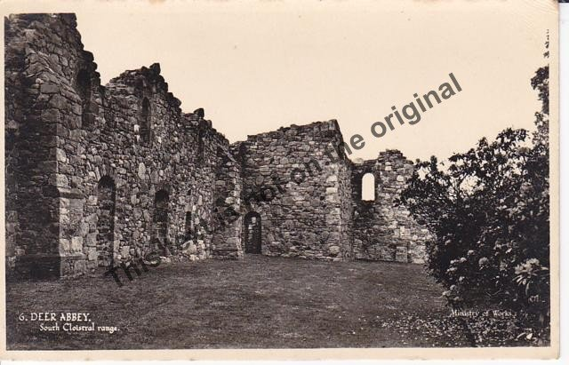 Deer Abbey - Mauritron Postcard #415