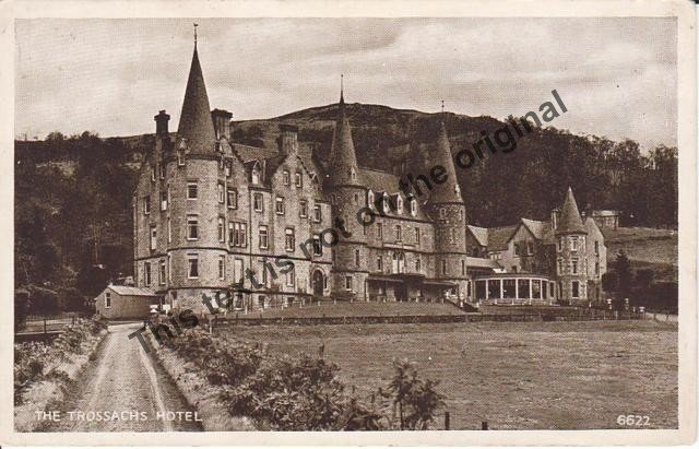 Trossachs Hotel Scotland - Mauritron Postcard #355