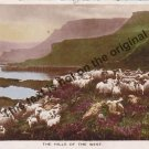 The Hills of the West, Scotland - Mauritron Postcard #367