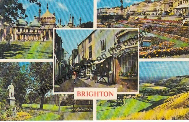 Brighton, England - Mauritron Postcard #183