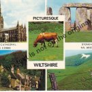 Picturesque Wiltshire England - Mauritron Postcard #185