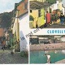 Clovelly Devonshire England - Mauritron Postcard #187