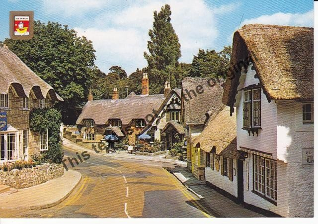 Shanklin Isle of Wight - Mauritron Postcard #331