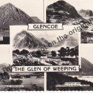 Glencoe The Glen of Weeping - Mauritron Postcard #375