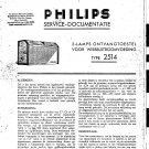 PHILIPS 2514 Service Manual with Schematics Circuits on Mauritron CD