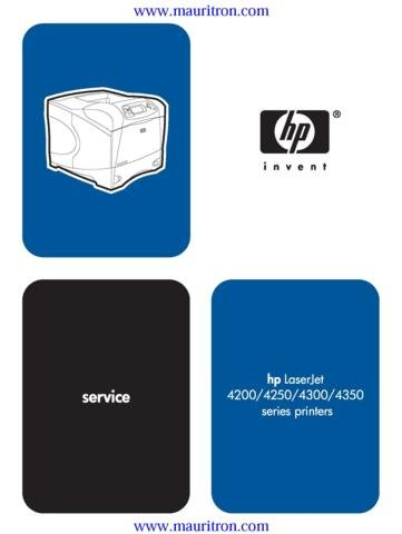 HP HEWLETT PACKARD 4300 Service Manual with Schematics Circuits on Mauritron CD