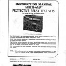 Multi Amp SR51A Service Manual. From Mauritron
