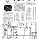 Philco B2806 Technical Repair Manual Mauritron