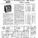 Philco BP427 Technical Repair Manual Mauritron