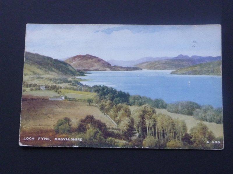 Postcards of Loch Fyne, Argyll & Bute Mauritron #5010