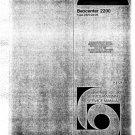 B & O Beocentre 2200 Service Manual mts#23