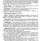 Bush PB83 Vintage Service Circuit Schematics mts#81