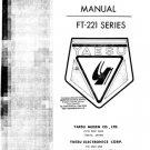 Yaesu FT221 Service Manual. Mauritron#504
