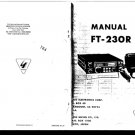 Yaesu FT230R Instructions Schematics. Mauritron#505