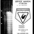 Yaesu FT901DM Service Manual. Mauritron#515