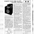 Roberts P4D Service Schematics. Mauritron#526