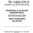 Hewlet Packard 333A Service Manual. Mauritron#671