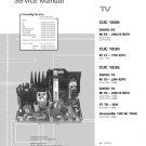 Grundig CUC-1836 Chassis Service Manual. Mauritron #699