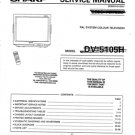 Sharp DV5105H Service Manual. Mauritron #801