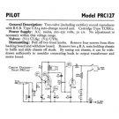 Pilot PRC127 Service Schematics. Mauritron #893