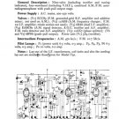 Pilot RGA101 Service Schematics. Mauritron #895