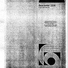 B & O Beocenter 2200 2421 Manual. Mauritron #935