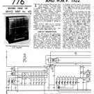 Marconi 874 Service Schematics. Mauritron #1047